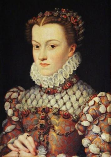 Elisabeth of Austria (1554–1592) Queen of France, by François Clouet (1515–1572)