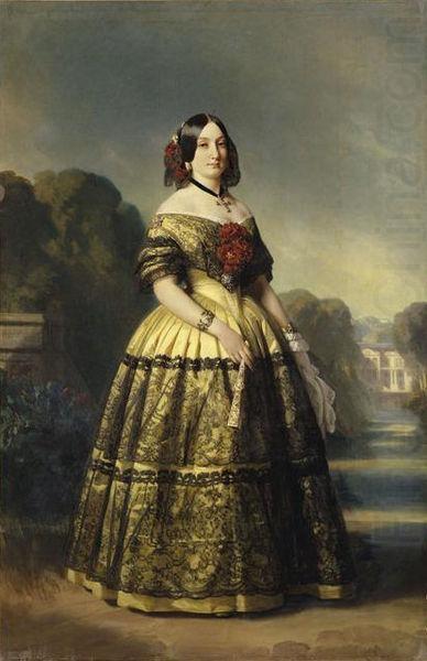 Maria Luisa von Spanien, 1847, Franz Xaver Winterhalter