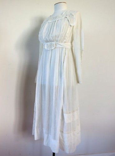 ca. 1916 muslin dress thedreamstress.com