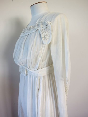 ca. 1916 muslin dress thedreamstress.com