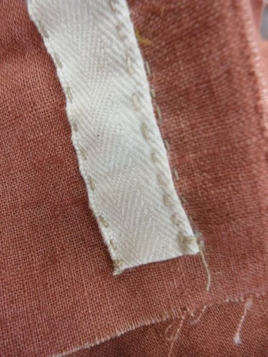 """Start your sewing 1/2"""" from the edge"""