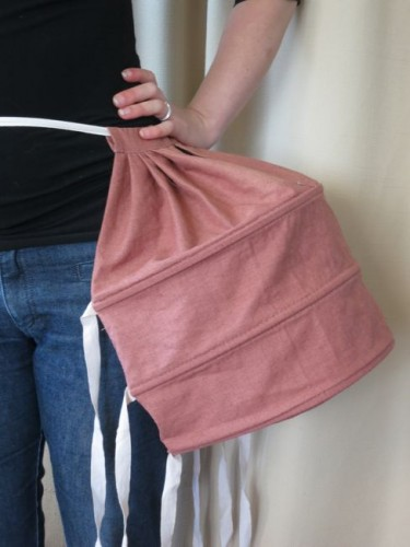 A finished panier bag
