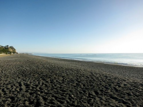 Napier beach, early morning