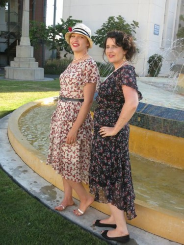 Fountain girls