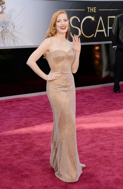 Oscars Jessica Chastain