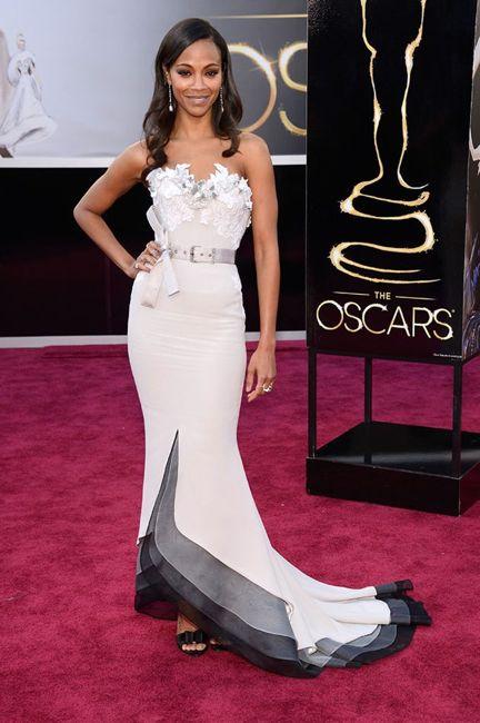 Oscars Zoe Saldana
