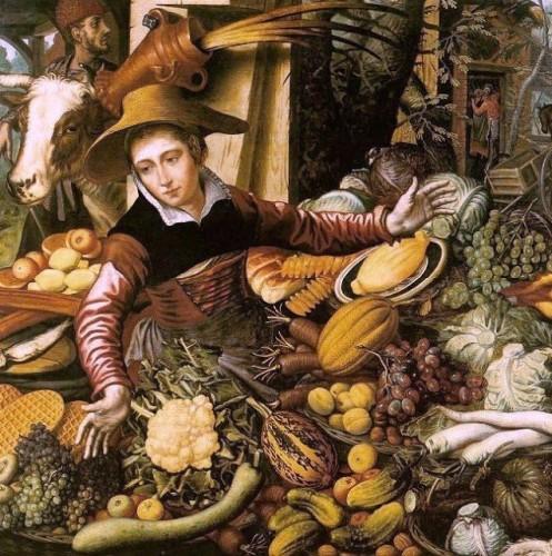 Pieter Aertsen , c 1508-1575, Market Woman