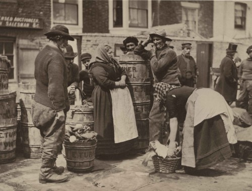 Frank Sutcliff, Fisher People, Whitby, 1880s