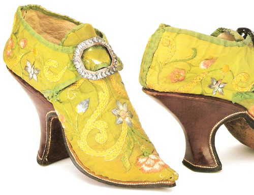 18th C Italian Shoes