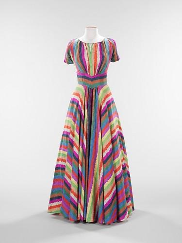 Alimony dress, Elizabeth Hawes (American, 1903–1971), 1937, American, silk, Metropolitan Museum of Art