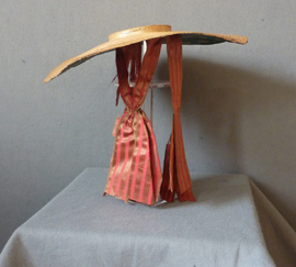 Bergére Straw Hat, c 1780, Meg Andrews