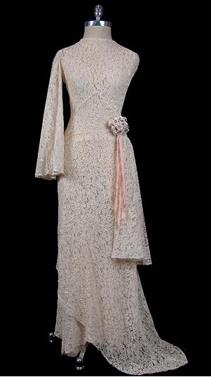 Dress, 1935, via The Frock