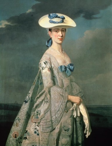 Eleanor Frances Dixie in a bergére, c. 1753, by Henry Pickering