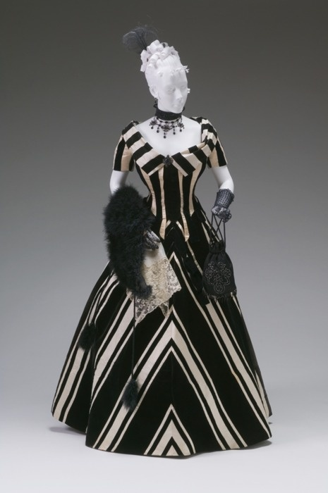 Evening Dress, Jacques Doucet, 1890s, The Mint Museum