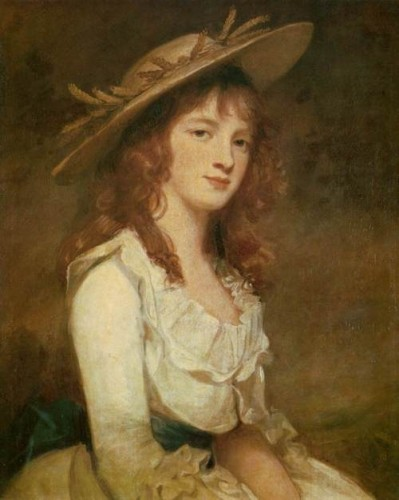 Miss Constable, 1787, George Romney