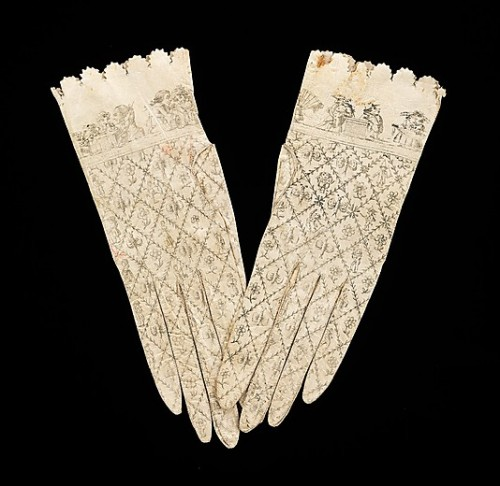 Gloves, 1800–1810, Spanish, leather, Metropolitan Museum of Art