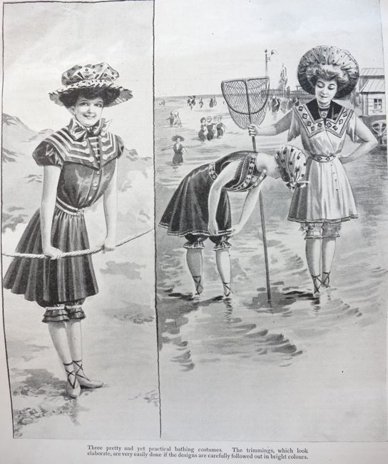 How a girl should dress for the sea, 1906, Girl's Own Paper