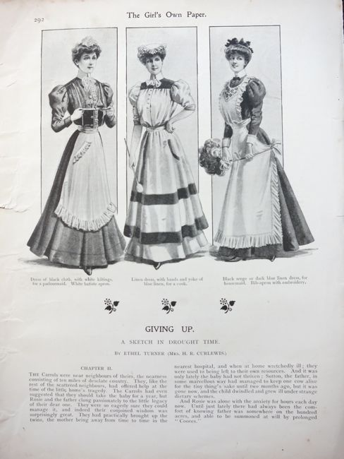 Girl's Own Magazine, 1906, thedreamstress.com