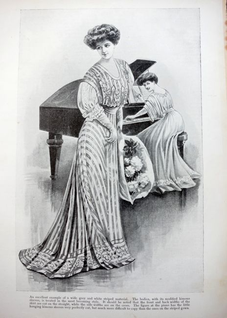 Girl's Own Paper fashion plate, 1906