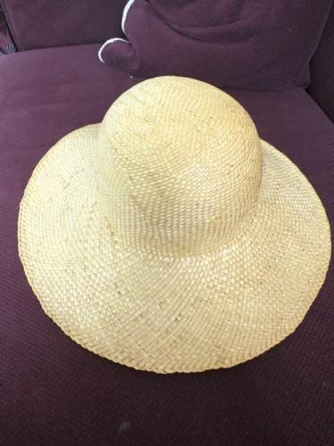 Modern straw hat