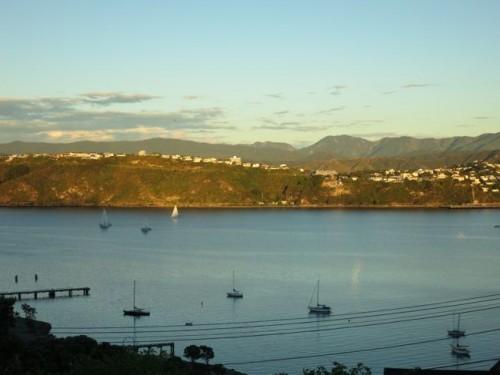 Sunset seas and skies, Wellington