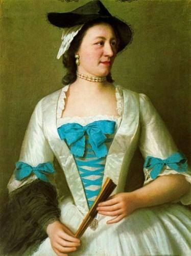 Lady Tyrell (1738) - Jean-Étienne Liotard