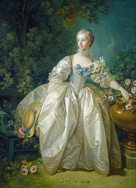 Madame Bergeret, c.1766,  François Boucher