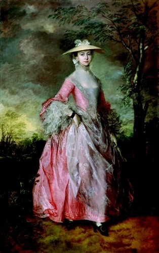 Mary, Countess of Howe in a bergére variant, Thomas Gainsborough, c. 1764