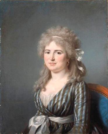 Portrait of a Portrait of Mme J L Germain , Marie-Gabrielle Capet, 1780s