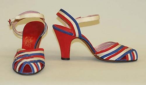 Sandals, I. Miller, ca. 1938, American, leather, Metropolitan Museum of Art