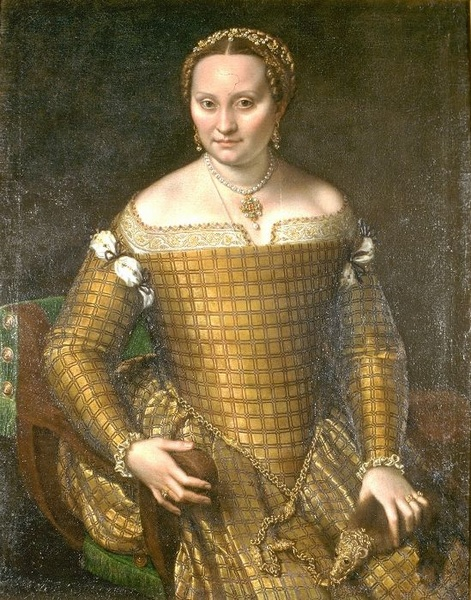 Sofonisba Anguissola (1530–1625), Portrait of Bianca Ponzoni Anguissola, the artist's mother, 1557