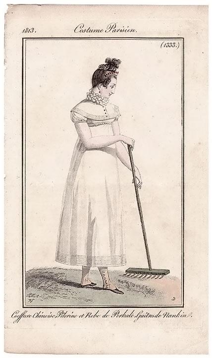 Costume Parisien Fashion plate 1333, 1813