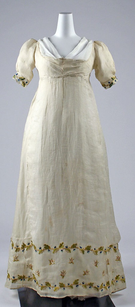 Dress, 1807–10, Italian, Metropolitan Museum of Art