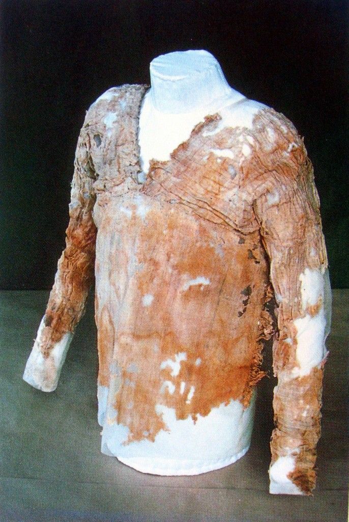 Pleated tunic, Ancient Egyptian. 1st dynasty, c. 3100-2890 BC. Werner Forman Archive/ University College London, Petrie Museum