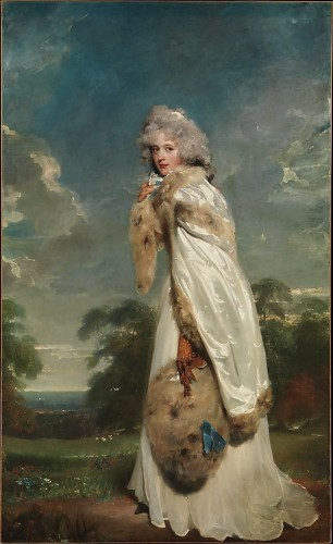 Elizabeth Farren (born about 1759, died 1829), Later Countess of Derby by Sir Thomas Lawrence (British, Bristol 1769–1830 London), 1790