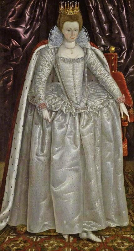 Elizabeth Vernon, Countess of Southampton (1572-1655), circa 1603