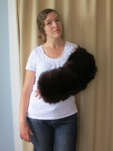 Fur sleeve thedreamstress.com