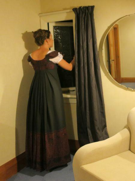 1813 Kashmiri Dress, thedreamstress.com
