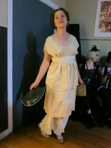 1913 'Carte Blanche' Poiret inspired dress thedreamstress.com