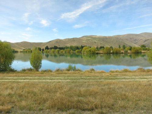Pond near Twizel, South Island, New Zealand