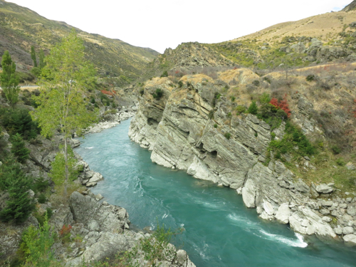 Turquoise rivers, South Island, New Zealand