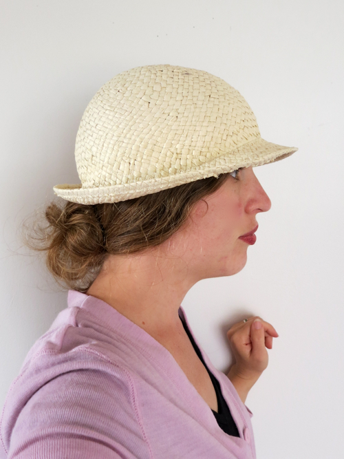 How to turn a fedora into a 1920s cloche thedreamstress.com