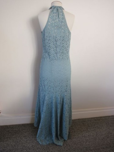 'Sea at Sunset' 1930s lace dress thedreamstress.com