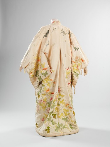 Kimono with Western influence, probably by Iida & Co.:Takashimaya  (Japanese, founded 1831), ca. 1910, Japanese, silk, Metropolitan Museum of Art