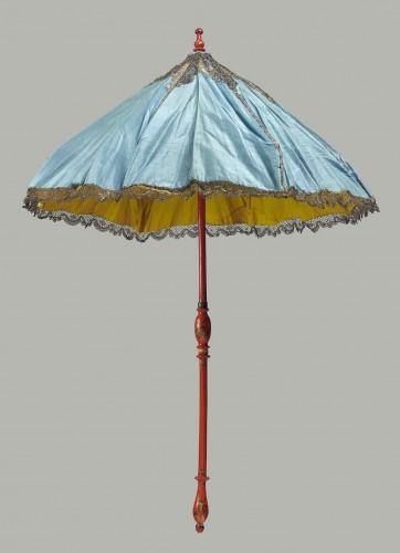 Parasol in two parts (parasol) French, MFA Boston