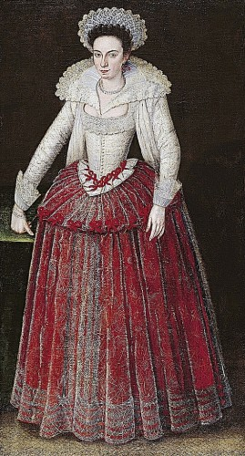 Lady Arabella Stuart by Marcus Gheeraerts the Younger, Norton Simon Museum, Pasadena, Ca, ca. 1605-10