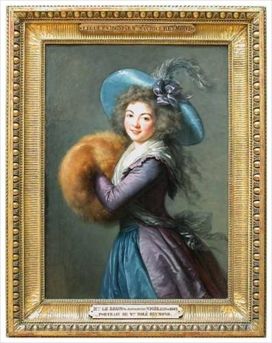Mme Mole Reymond by Elizabeth Vigee-Lebrun, 1787