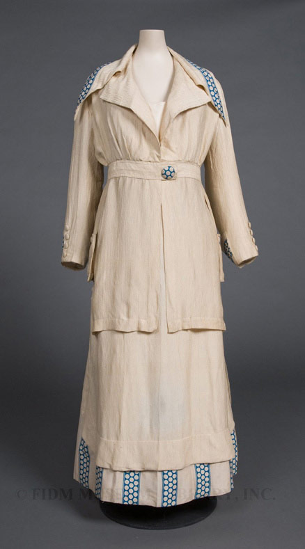 Woman's Suit, 1913-14, Silk, FIDM Museum