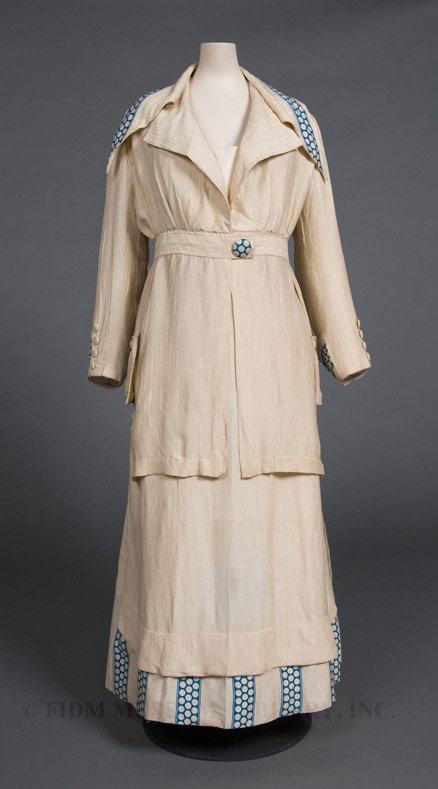Woman's Suit, 1913-14, Silk, FIDM Museum