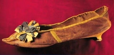 1780 Leather Shoe, Museum of the City of New York